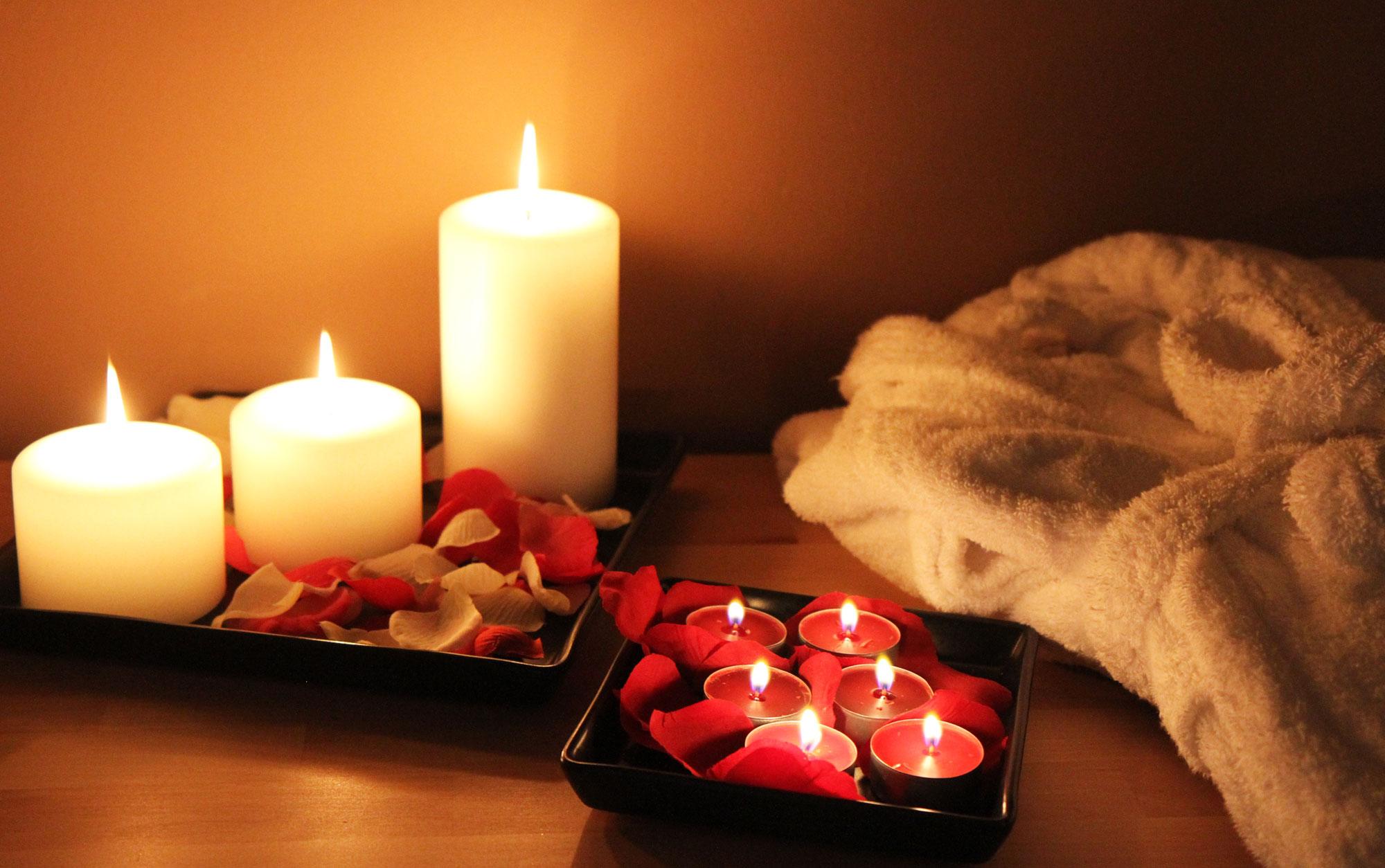 Sfondi Romantici Candele Relax E Benessere Hd Conscientia